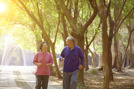 Prevent fall by adopting a healthy lifestyle