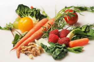 Eat plenty of vegetables and fruits