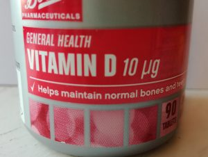 Older adults need Vitamin D supplement